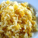中国料理 「望海楼」 - 玉子炒飯・・美味しい炒飯です。白子の麻婆土鍋と共に頂きます。