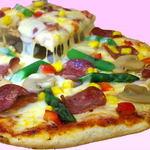 ピコピコ - 期間限定12/12~30まで 『サラミとアスパラのクリスマスピザ』です