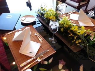 鎌倉山 横浜スカイビル店 - 20121211 個室のテーブルセッティング