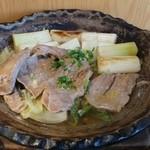 大戸屋 - 醤油麹漬けまぐろ鍋なかなかうまかった。変則ねぎま鍋