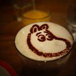 ムーミン ベーカリー&カフェ - ムーミンのラテアート