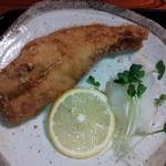 16329685 - 日替り定食(赤魚唐揚)¥680(H24.11.21撮影)
