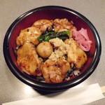 トリシゲ - 料理写真:焼き鳥丼「600円」