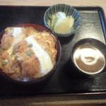 栄家 - かつ丼 900円