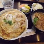大村庵 - かつ丼セット