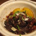 タイーム - 2012・12月 前菜盛り・牛筋赤ワイン煮