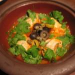 タイーム - 2012・12月 牡蠣とトマトのタジン蒸し