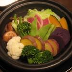 タイーム - 2012・12月 野菜のタジン蒸し