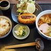 うどん長屋 - 料理写真:野菜コロッケ定食