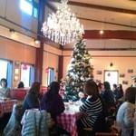 16336089 - すでにクリスマスツリーが飾られてました。