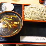 やぶ砂 - 料理写真:2012/12 鳥つけ汁700円