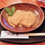 一石庵 - きなこ餅。