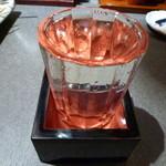 16339544 - 【冷やおろし小鼓 500円】地酒も有ります♪