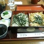 そば処 大むら - 親子丼・ザルセット(1,100円)