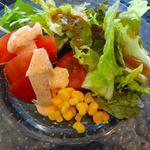 バイキングレストラン  オーク - 取り皿に取った料理