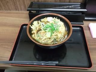 そば うどん 萩 - 野菜かき揚げ