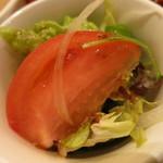 海老善 - 花籠盛り御前 サラダ