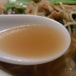 聘珍樓 横濱本店 - サンマー麺1060円[食事席]