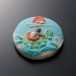 梅かま - 飾り・細工かまぼこ 小巻 亀