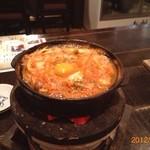 花しずく - キムチチゲ鍋が、美味しい!