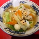 上海楼 - 五目海鮮麺