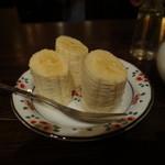 カフェ・デ・プリマベーラ - コーヒーにはバナナが付きます