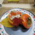 かず味家 - 料理写真:柿なます
