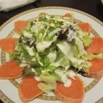 クーネルキッチン - サーモンのカルパッチョサラダ