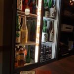 日本酒 酒晴 - 品揃えはこんな感じ