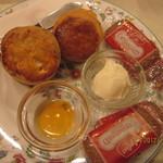 ラ・テイエール - スコーンセット+クッキー
