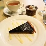 16359574 - 濃厚チョコレートのタルト。