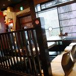 鐵玄肉匠 渋谷 - 座りテーブル