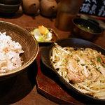 鐵玄肉匠 渋谷 - 【ランチ】鹿児島産 薩摩黒豚炭火焼き定食