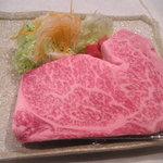 羅生門 はんにゃ - 黒毛和牛のサーロインステーキ