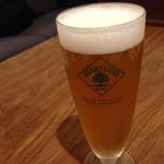 サンテリアプラス - ビールはハートランド生! 生で飲めるのは珍しい!!