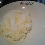 アイニーズ - 麻婆豆腐のご飯