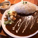 16361047 - 「チキン南蛮カレー」(800円)。じっくりシッカリ煮込んだ感がハンパ無い美味しいカレーでした。