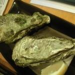 ながぐつ - 【殻つき牡蠣@値段失念】 1個200円位かな。。