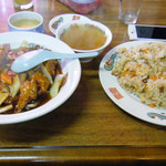味溜園 - 料理写真:炒飯大と酢豚