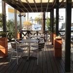 16369421 - 暖かい日はここで食べたい