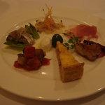 トラットリアセレーナ - 前菜の盛り合わせ