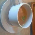 香蘭 - カレーランチのスープ