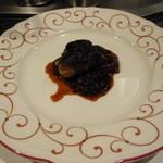 馨 - フランス産フォアグラのソテー ~有明産香味海苔のソース~