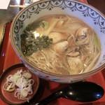 16373187 - かき蕎麦¥1,300