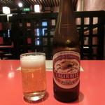 酒井亭 - ちび瓶ビール
