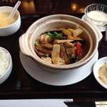 16373811 - 四川風茄子の土鍋セット