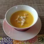 魚町カフェ - ランチのスープ