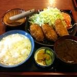 16376134 - ヒレカツ定食♪