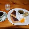 西南珈琲 クアラ - 料理写真:こちらは小倉トースト