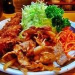 キッチン南海 - 付け合せはパセリ&ナポリタンタイプ